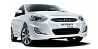Rent A Car Antalya Hyundai Blue Automatic Diesel